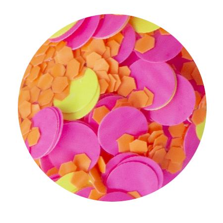 Pyro Pink Confetti